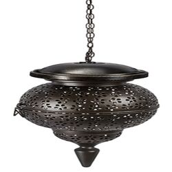 Paradise Lighting  LED  Glass/Metal  Hanging Garden Light  Bronze