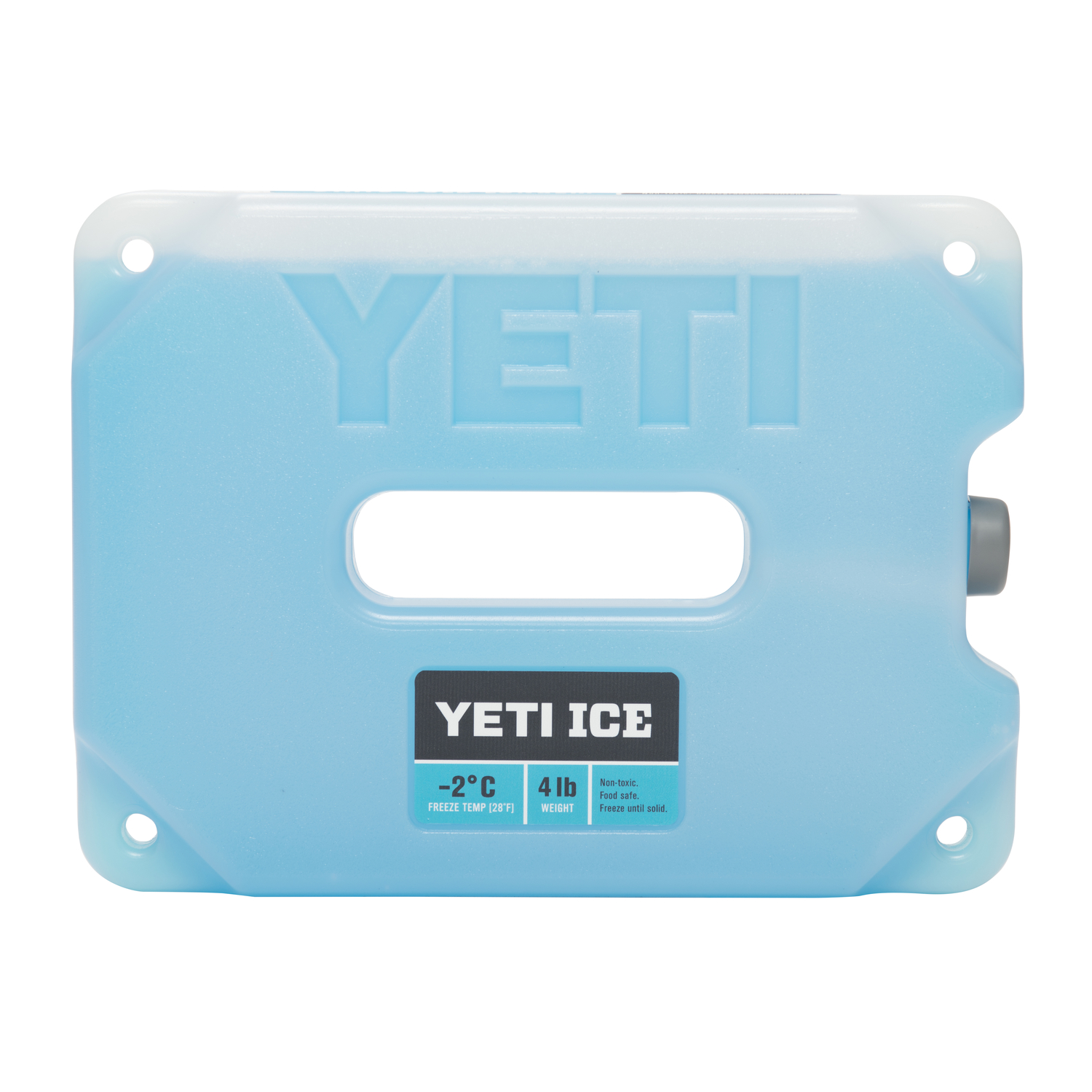 YETI  Ice Gel Pack  4 lb. Blue  1 each