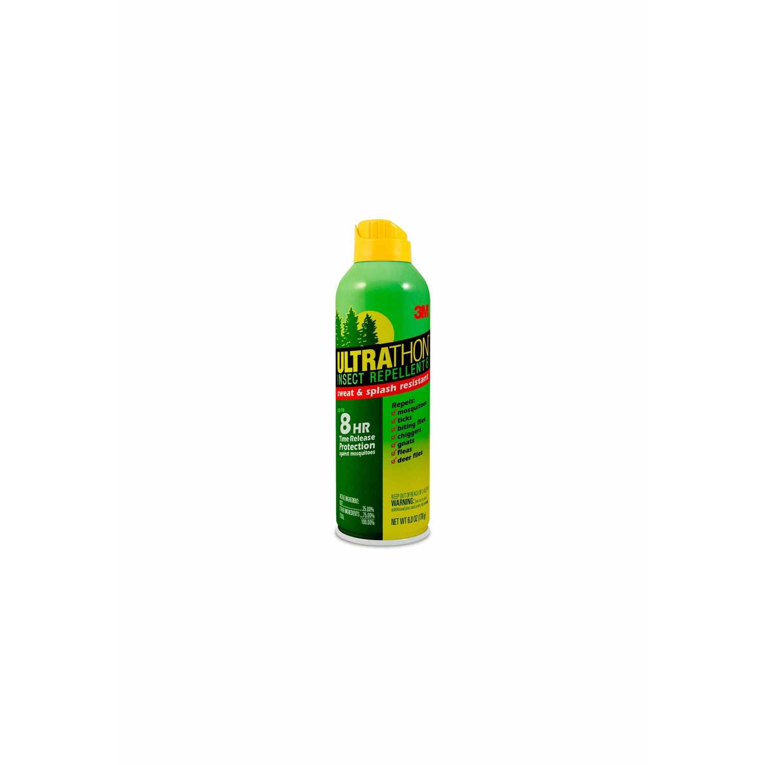 3M  Ultrathon  Insect Repellent  Liquid  For Mosquitoes/Ticks 6 oz.