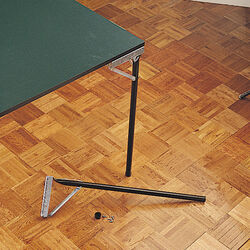 Waddell  29 in. H Folding  Metal  Table Leg