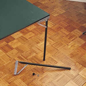 Waddell  29 in. H Metal  Furniture Leg