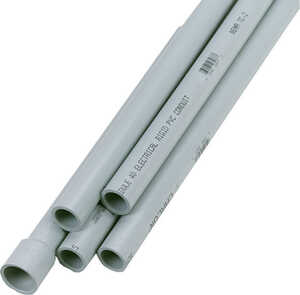 Cantex  1 in. Dia. x 10 ft. L PVC  For Rigid Electrical Conduit