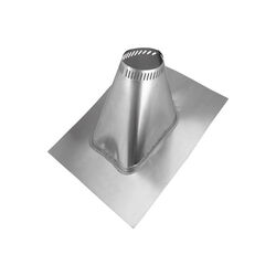 Selkirk  8 in. Dia. Stainless Steel  Adjustable Roof Flashing