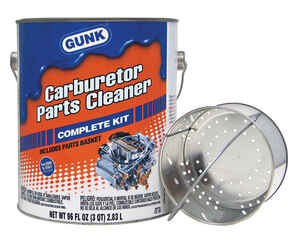 Gunk  No Scent Carburetor Parts Cleaner  96 oz. Liquid