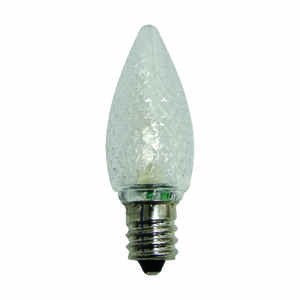 Celebrations  LED C7  C7 3 Diode  Replacement Bulb  Warm White  25 pk