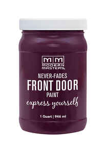 Modern Masters  Front Door Paint  1 qt. Satin  Spontaneous
