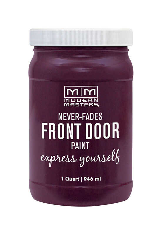 Modern Masters  Door Paint  Satin  Spontaneous  Front Door Paint  1 qt.