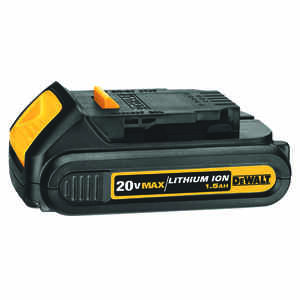 DeWalt  20V MAX  20 volt 1.5 Ah Lithium-Ion  Compact Battery Pack  1 pc.