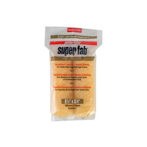 Wooster  Super/Fab  Synthetic Blend  3/4 in.  x 6-1/2 in. W Mini  Paint Roller Cover  2 pk
