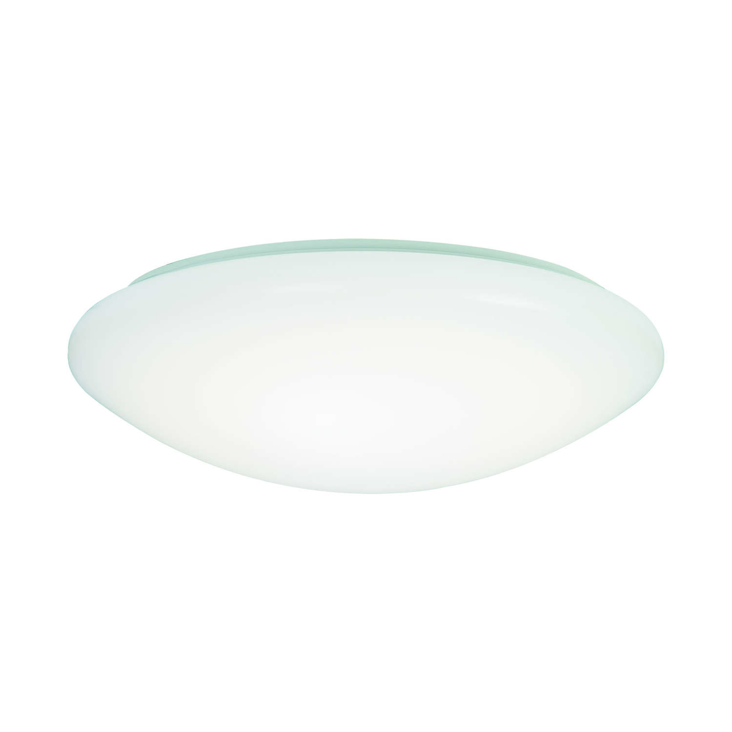 Metalux 3.2 in. H x 11 in. W x 11 in. L White LED Ceiling Light