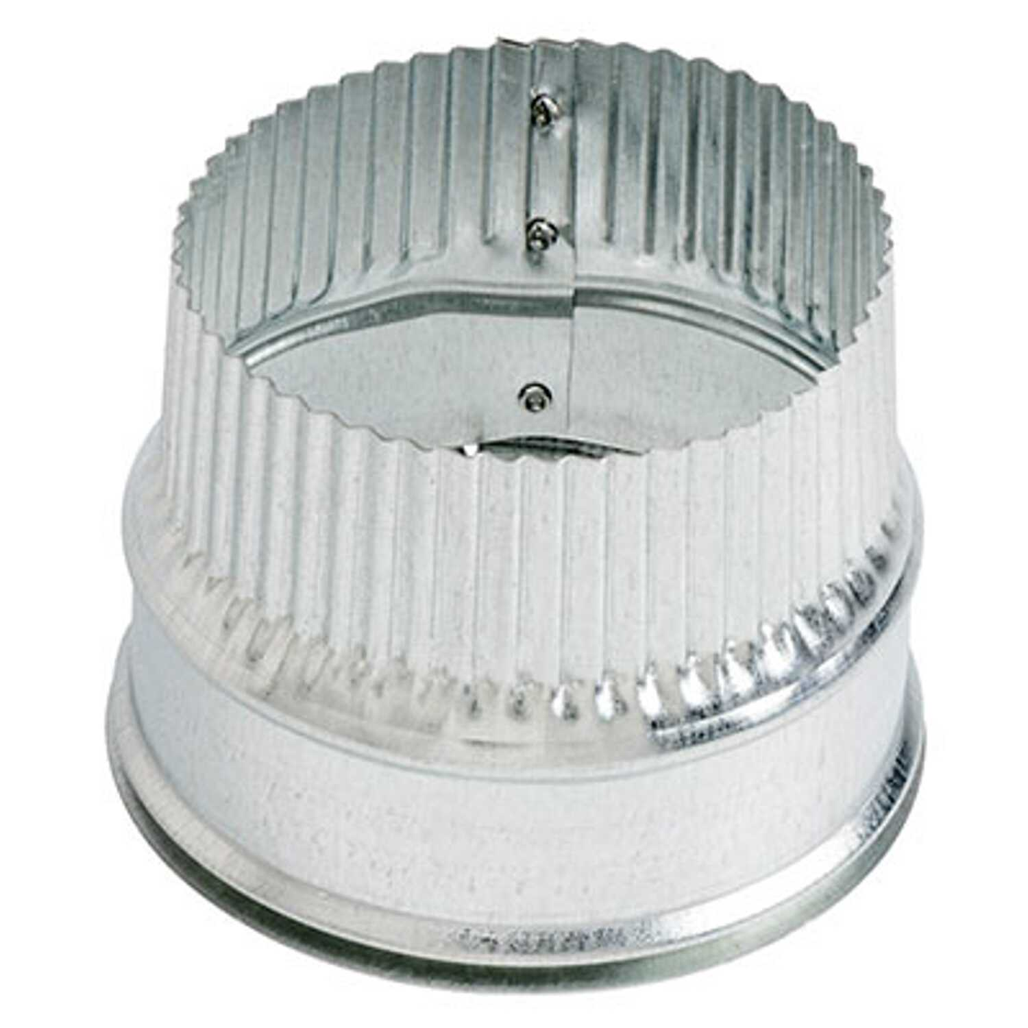 Broan  4 in. Dia. 4 Ga. Steel  Duct Collar