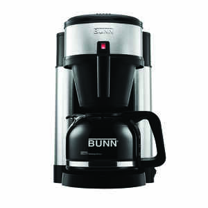 BUNN  NHS  10 cups Black/Silver  Coffee Maker