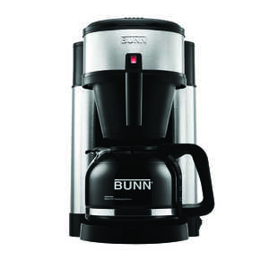 BUNN  NHS  10 cups Coffee Maker  Black/Silver