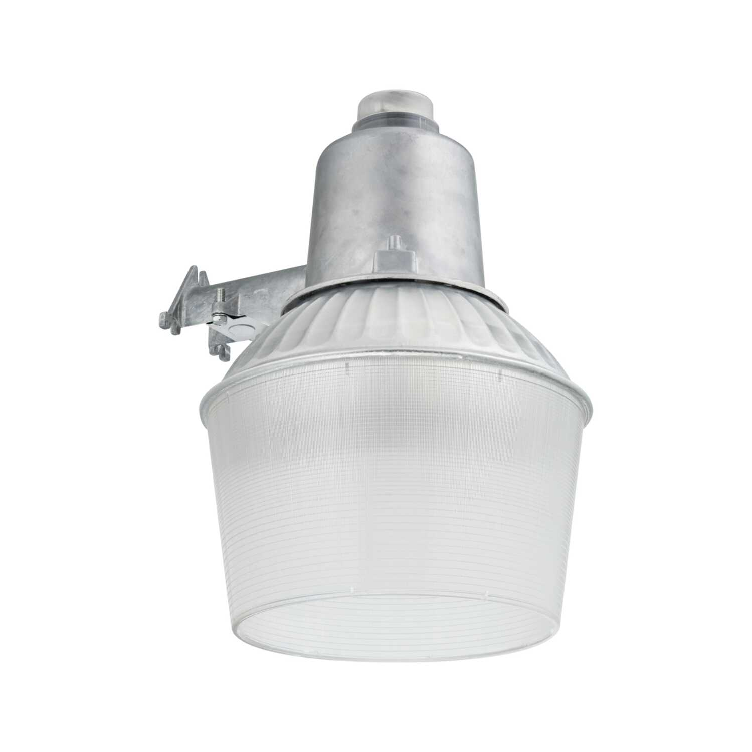 Lithonia Lighting  Dusk to Dawn  Hardwired  Metal Halide  Silver  Area Light