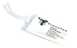 Travelon  Clear  Self-Laminating Tags