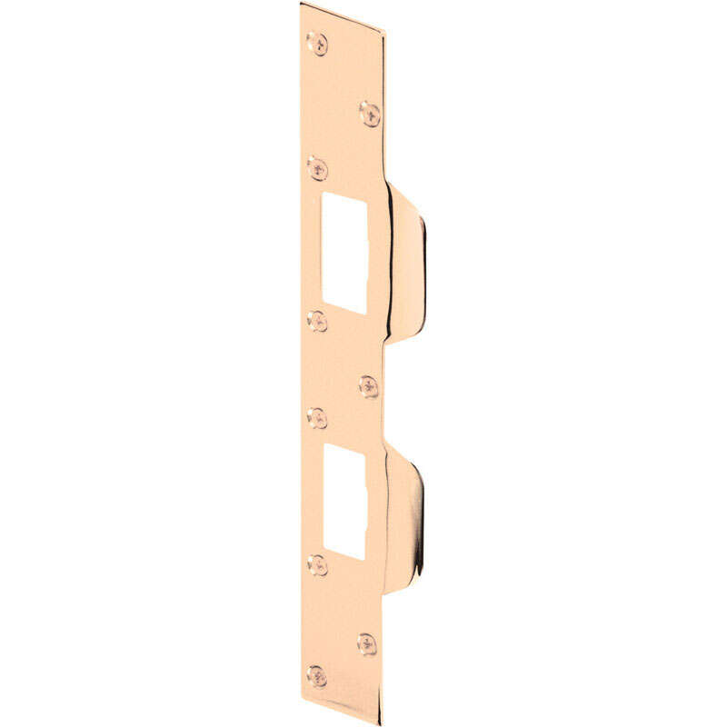 Prime-Line  11 in. H x 1.625 in. L Brass-Plated  Steel  Maximum Security Combination Strike