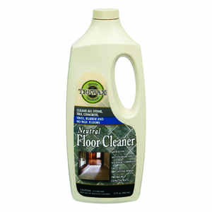 Trewax  No Scent Floor Cleaner  Liquid  32 oz.