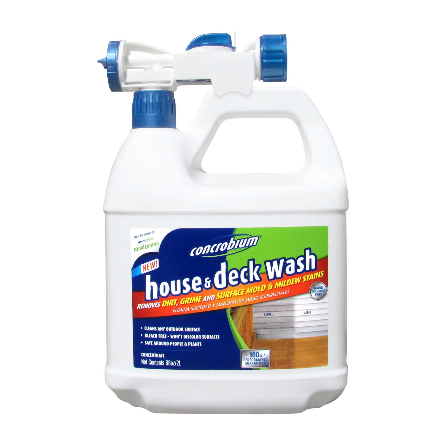 Concrobium  House and Deck Cleaner  68 oz. Spray
