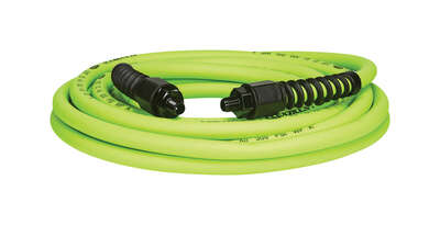Flexzilla  Pro  25 ft. L x 3/8 in. Dia. Hybrid Polymer  Air Hose  300 psi Zilla Green