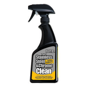 Flitz  No Scent Metal Cleaner  16 oz. Liquid
