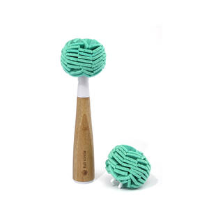 Full Circle  Crystal Clear 2.0  2-3/4 in. W Bamboo  Replacement Dish Brush Heads