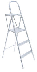 Werner  5 ft. H x 21.5 in. W Aluminum  Platform Ladder  Type III  200 lb. capacity