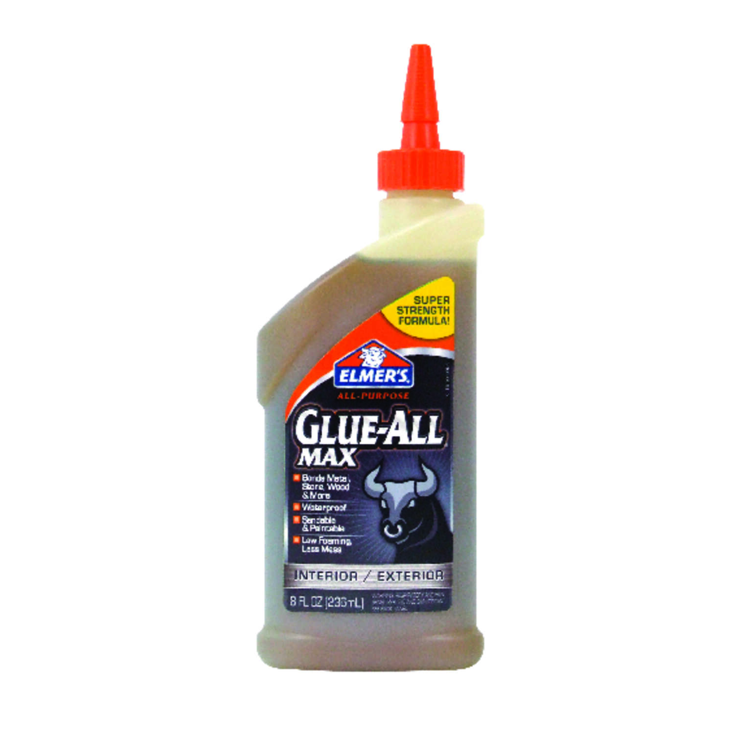 Elmer's  Glue-All  Super Strength  Polyvinyl acetate homopolymer  Glue  8 oz.