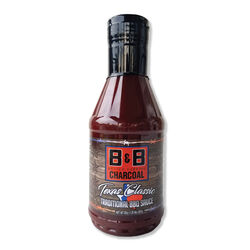 B&B Charcoal Texas Classic BBQ Sauce 20 oz.