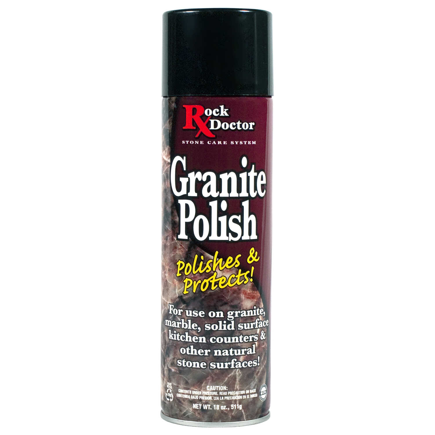 Rock Doctor  No Scent Granite Polish  18 oz. Spray