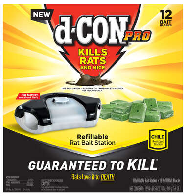 D-Con  Bait Station  Blocks  For Mice and Rats