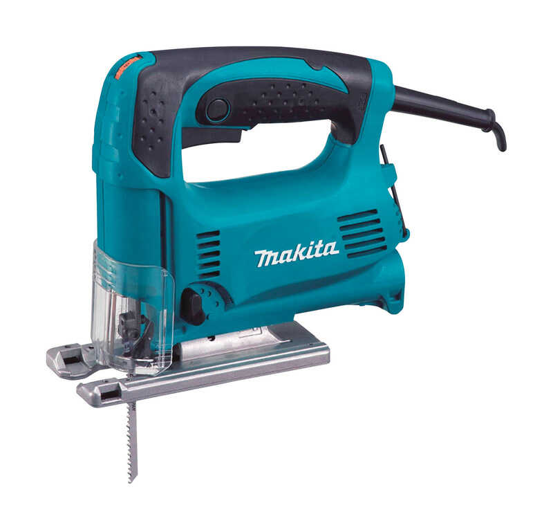 Makita  11/16 in. Corded  Top Handle Jig Saw  120 volts 3.9 amps 500 - 3100 spm
