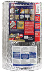 Reflectix  24 in. W x 50  L Up To 14.3  Reflective  Radiant Barrier  Insulation  Roll  100 sq. ft.