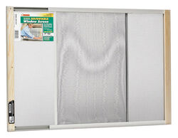 Frost King 21 To 37 in. W Steel Adjustable Window Screen