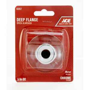 Ace  1/2 in. Metal  Deep Flange