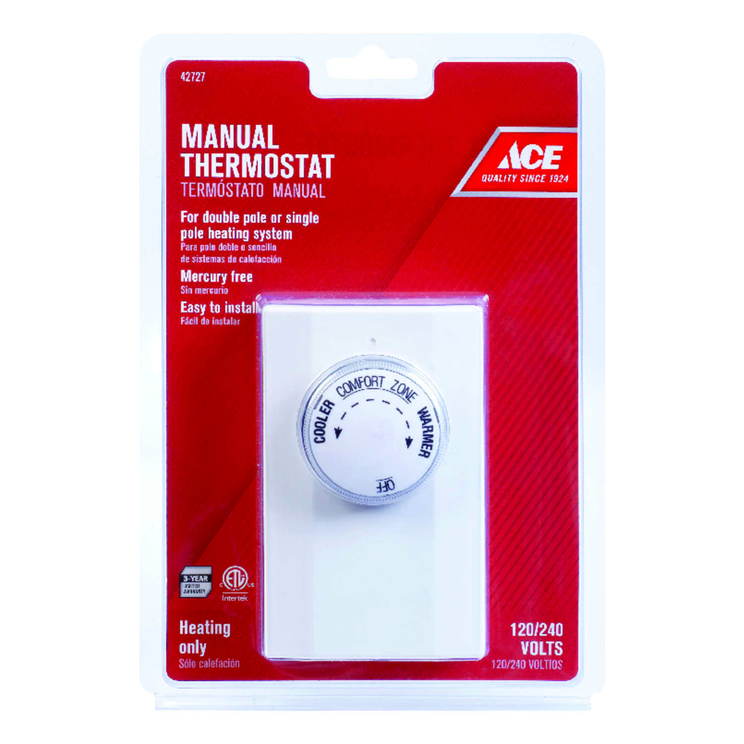 Ace Heating Dial Mechanical Thermostat Hardware Wiring Diagram