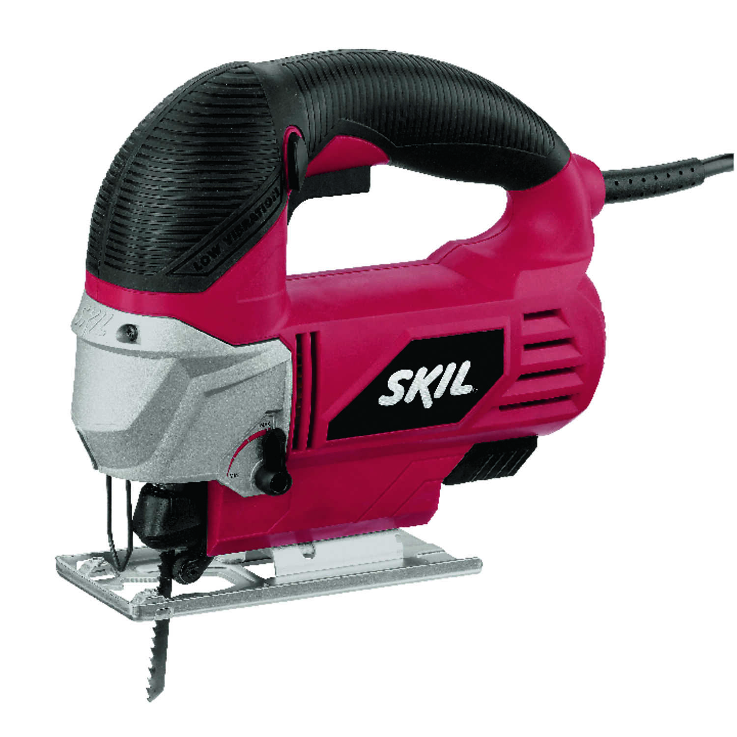 Skil  3/4 in. Corded  Keyless Orbital Jig Saw  Kit 120 volt 5.5 amps 3200 spm