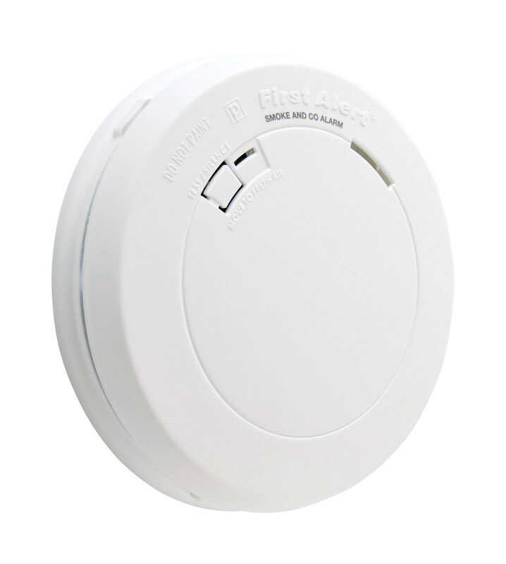 First Alert  Battery  Electrochemical/Photoelectric  Smoke and Carbon Monoxide Detector