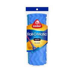 O-Cedar  Roll-O-Matic  8.5 in. L Wet  Sponge  Mop Refill  1 pk