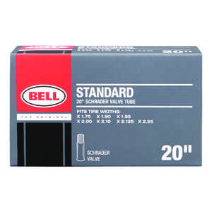 Bell Sports  Standard  Rubber  20 x 1.75 - 2.25  Bike Tube  1 pk