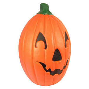 Union Products  Pumpkin Blow Mold  Lighted Halloween Decoration  15.5 in. W x 15.5 in. L x 22 in. H
