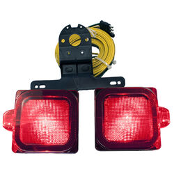Peterson  Red  Square  Stop/Tail/Turn  Light Kit