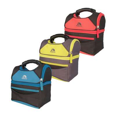 Igloo  Playmate Gripper  Lunch Bag Cooler  9  Assorted