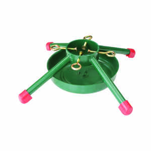 Jack-Post  Steel  Green  Christmas Tree Stand  8 ft. Maximum Tree Height