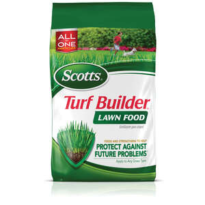 Scotts  Turf Builder  32-0-4  Lawn Food  For All Grass Types 37.5