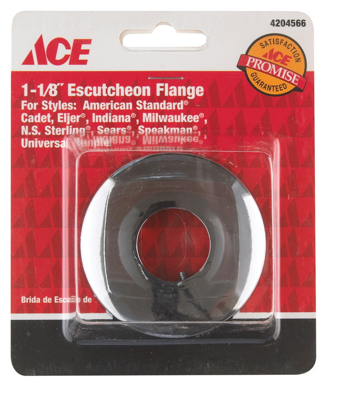 Ace  Escutcheon Flange  1-1/8 in.