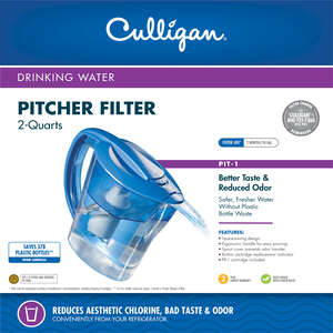 Culligan Drinking Water Filter Pitcher 2 qt. Boxed
