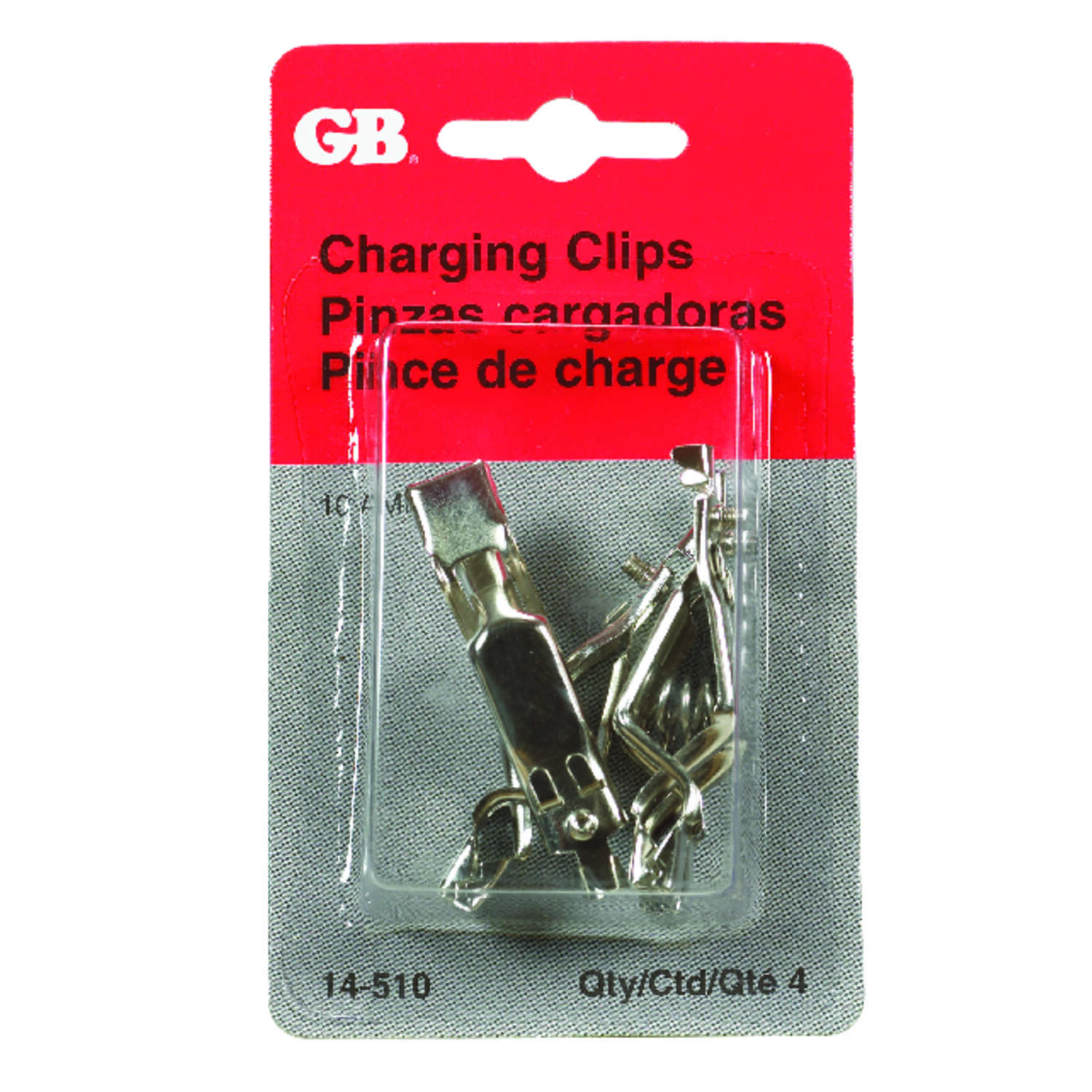 Gardner Bender  10  Battery Charging Clips  4 pk