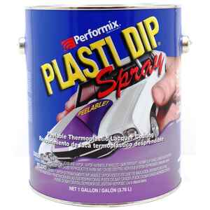 Plasti Dip  Flat/Matte  Clear  Rubber Coating  1 gallon