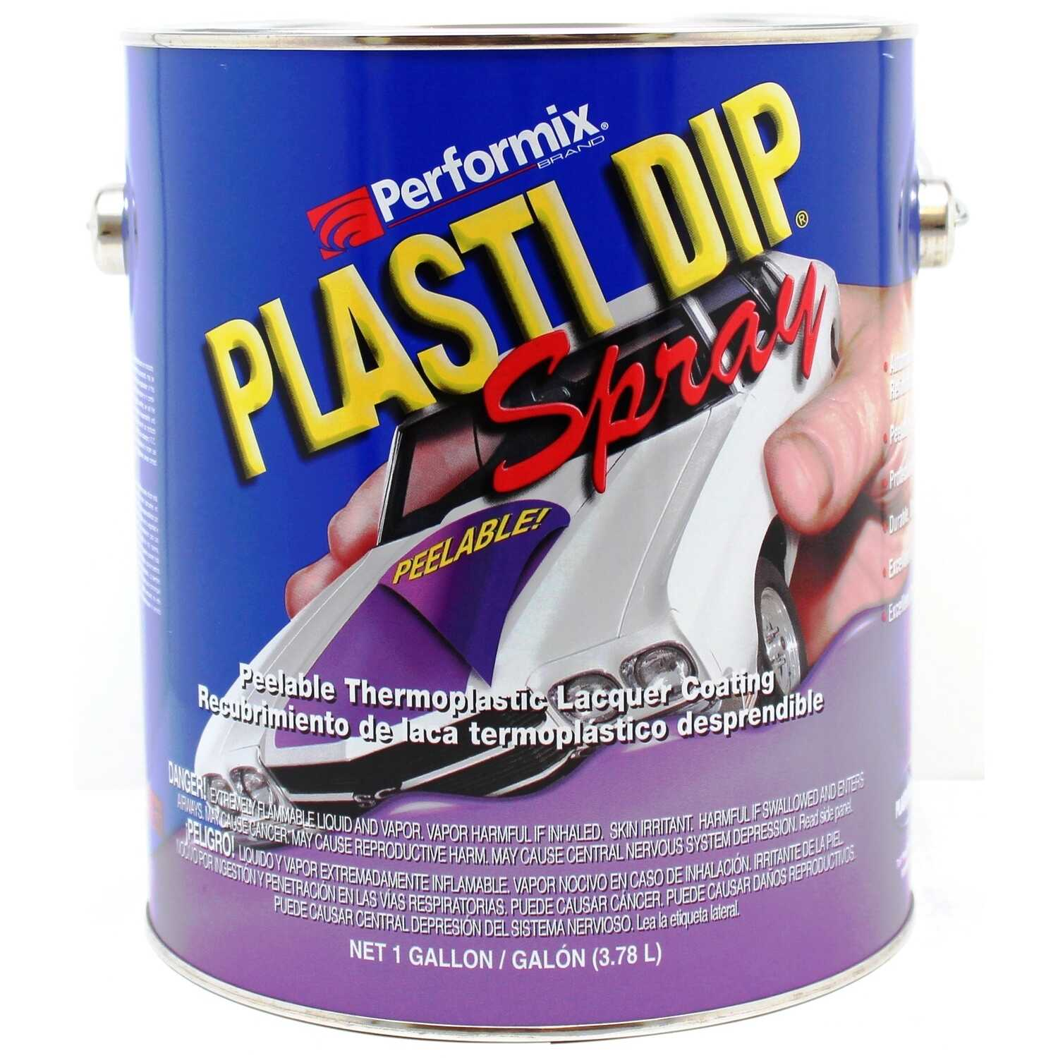 Plasti Dip  Flat/Matte  1 gallon  Clear  Rubber Coating