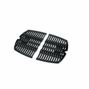 Weber  Q100/1000  Cast Iron/Porcelain  Grill Cooking Grate  12-3/4 in. W x 17 in. L